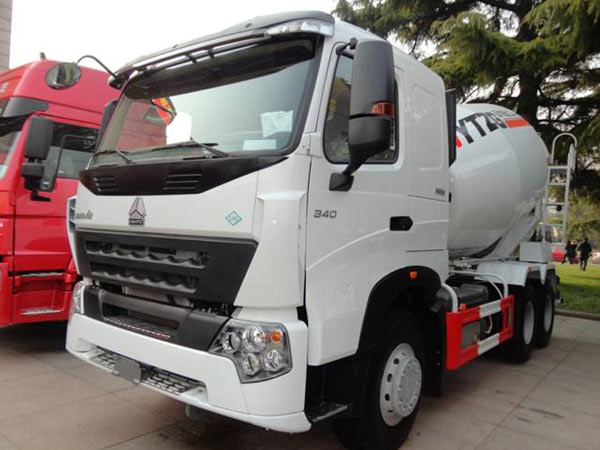 8CBM HOWO A7 Concrete Mixer Trucks 6x4 Concrete Mixer Truck For Sale