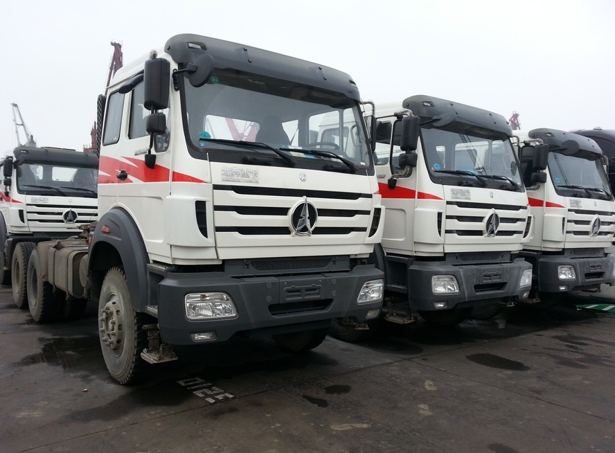 North Benz NG80 Tractor Truck 380HP Beiben Tractor Head