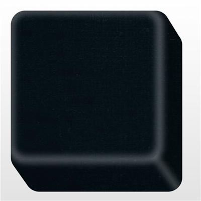 BA-POA903 Black Artifcial Stone Bendable Solid Surface