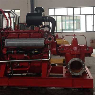 Full-automatic Diesel Fire Pump-Diesel And Water Pump Group