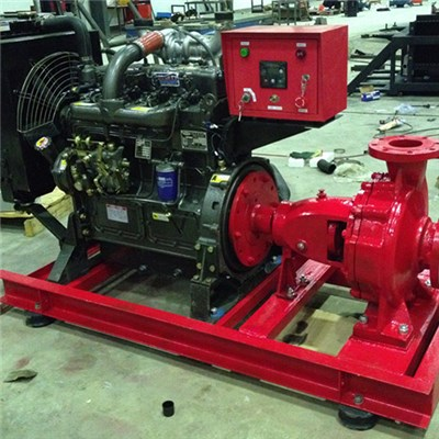 XBC Model Diesel Fireg Pump Group Double Suction Fire Pump Group