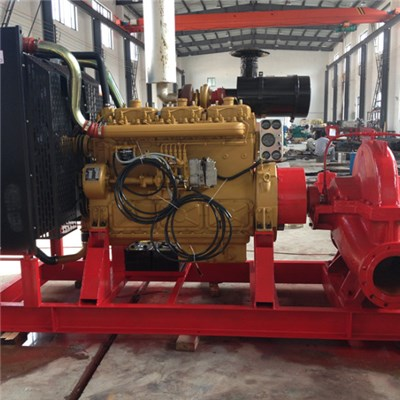 XBC Model Diesel Fire Pump Group Multistage