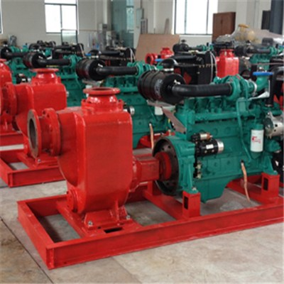 KDZ Model Diesel Self-priming Pump-Sationary Type Diesel Sewage Drainage Pump