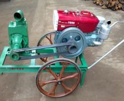 KDZN Agricultural Type Anti-drought Diesel Self-priming Pump(Single Cylinder Diesel: Coupling Type And Belt Drive)