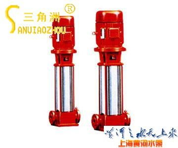 XBD-(I) Vertical Single-suction Multistage Inline Mounted Fire Pump