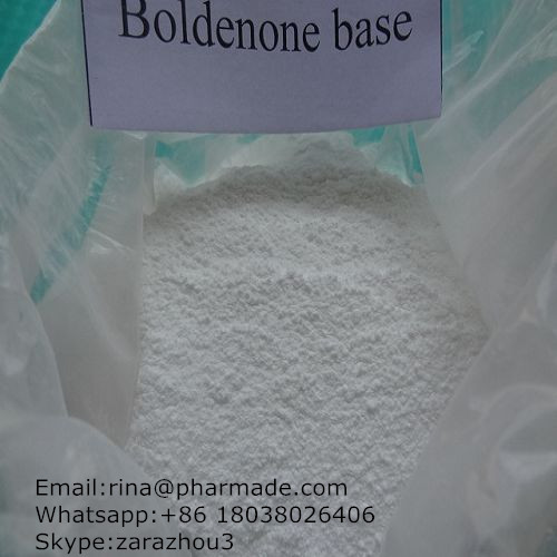 Top Quanlity  Boldenone Base Anabolic Steroid from rina@pharmade.com