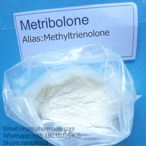 Methyltrienolone Anabolic Steroids  Metribolone from rina@pharmade.com