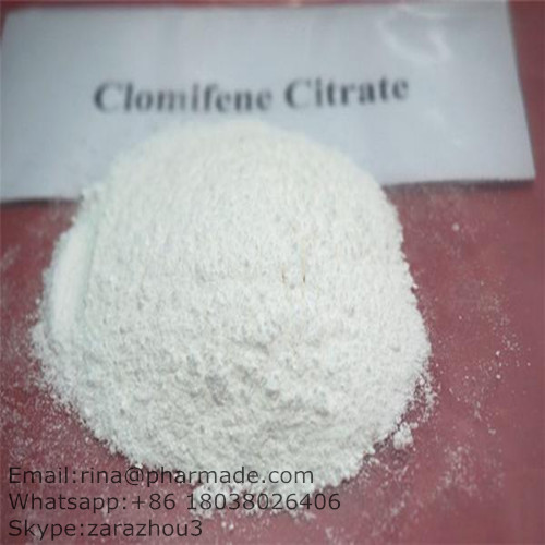 Clomifene Citrate Anti-Estrogen Powder  Clomid  Cancer Treatment Steroid