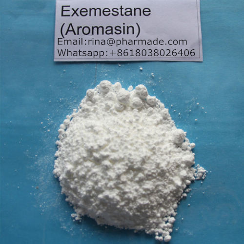 Anti-Estrogen Exemestane  Aromasin treating Breast cancer  Factory Supplyment