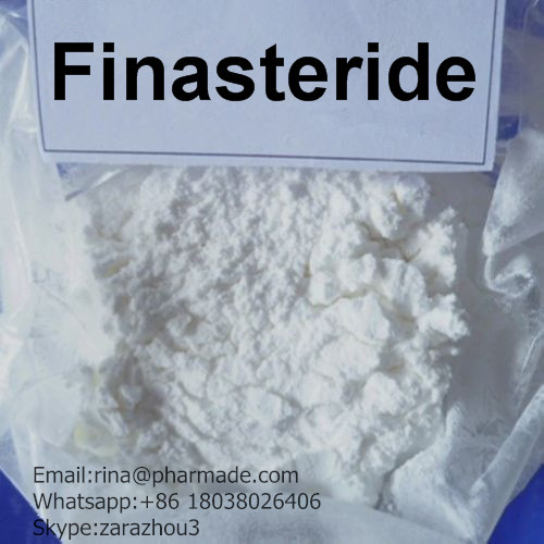 Finasteride  Treating Hair Loss Raw Powder from rina@pharmade.com