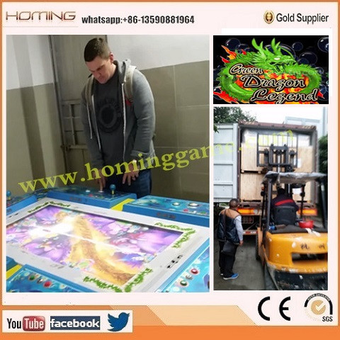 2016 hot sale video arcade game machines The most popular fishing game dragon hunter fishing game