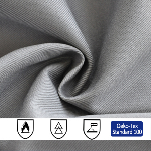 EN Standards Cotton Flame Retardant Fabric