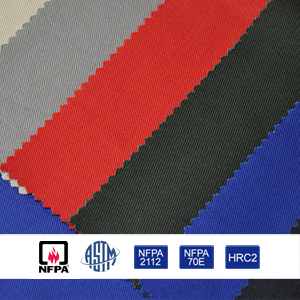 ASTM Cotton Fire Resistant Fabric