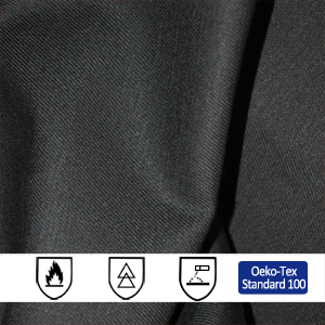 250gsm Cotton Polyester Fire Resistant Fabric