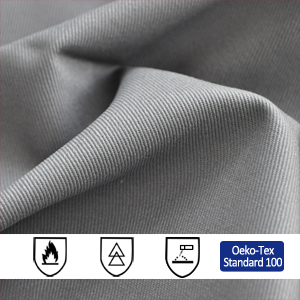 280gsm Cotton Antistatic Fire Resistant Fabric