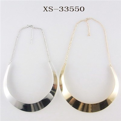 Environmental Plating Gold Silver Necklaces