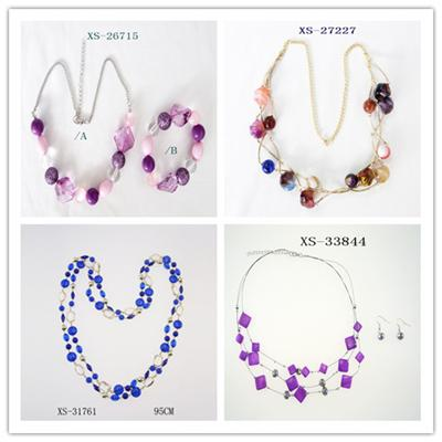 Handcraft Fashion Beads Necklaces For Apparel