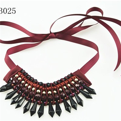Shinning Statement Necklace For Wedding