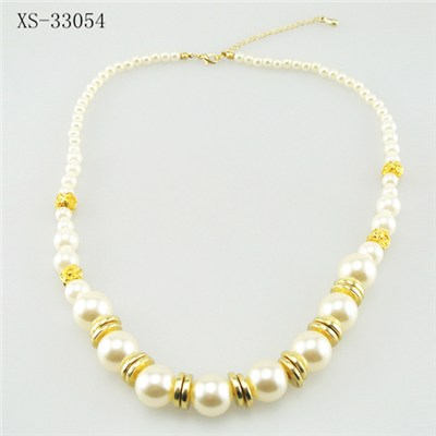 Beautiful Summer Pearl Necklace