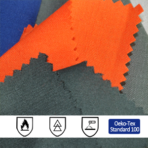 210gsm Aramid Antistatic Fire Resistant Fabric