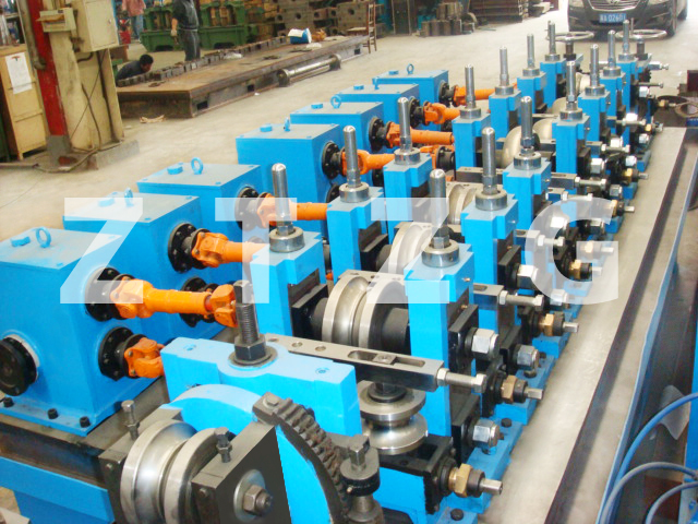 ERW20 carbon steel HF Straight Welded Pipe production Line