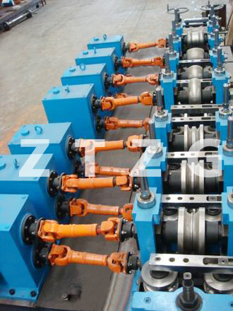 ERW50 carbon steel HF Straight Welded Pipe production Line