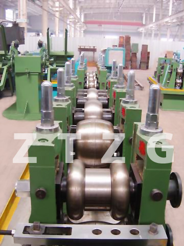 ERW76 carbon steel HF Straight Welded Pipe production Line