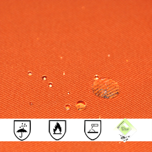 EN 13034 Cotton Polyester Fireproof Waterproof Fabric