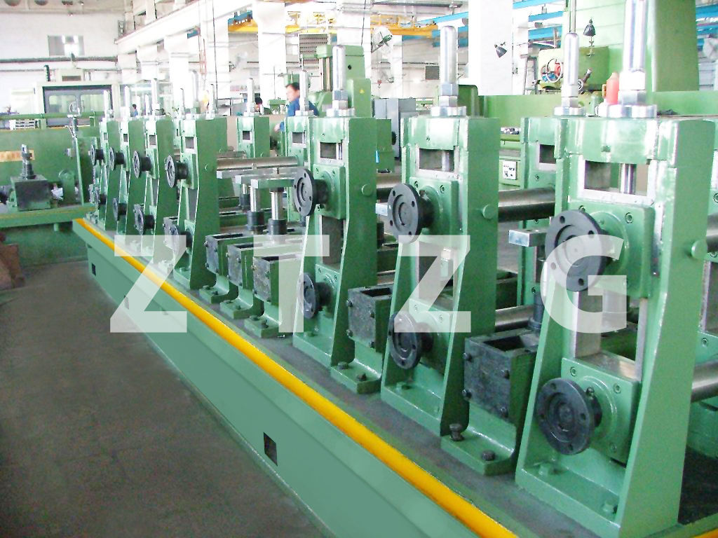 ERW140 carbon steel HF Straight Welded Pipe production Line