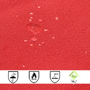 300gsm Cotton Polyester Fireproof Waterproof Fabric