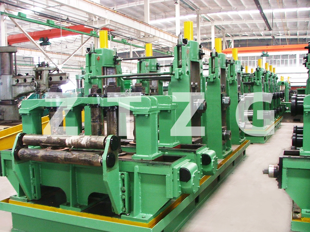 ERW165 carbon steel HF Straight Welded Pipe production Line