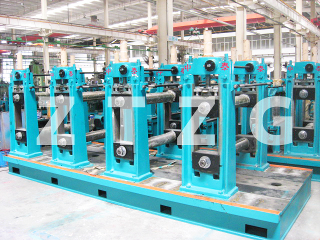ERW219 carbon steel HF Straight Welded Pipe production Line