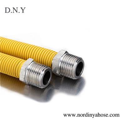 DN 16 FM PVC Coated Flexible Metal Gas Hose