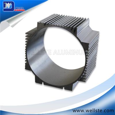 Aluminum Extruded Cylinder Shell