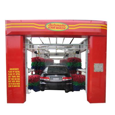 Automatic 7 Brushes Tunnel Car Wash Machine