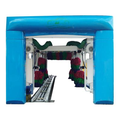 High Pressure 9 Brushes Tunnel Car Wash Machine