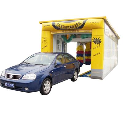10 Brushes Tunnel Car Wash Equipment