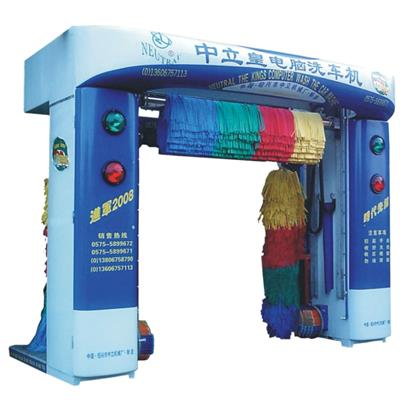 Automatic 3 Brushes Rollover Car Wash Machine