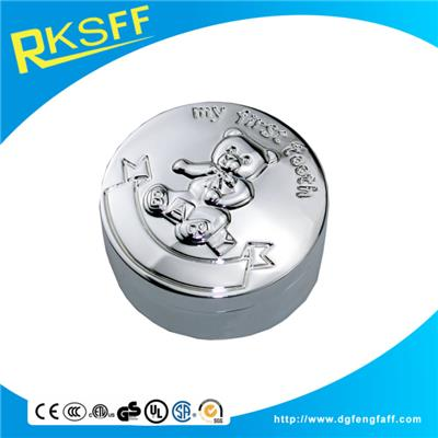 Zinc Alloy Round Tooth Boxs
