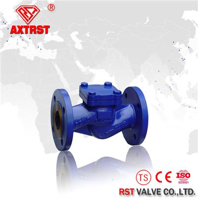 DIN Standard Cast Steel Flange Ends Swing Type Check Valve PN10~PN64