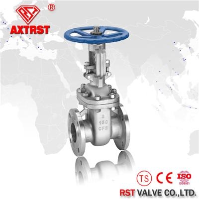 Cast Steel Flange Ends Gate Valve 150LB~900LB