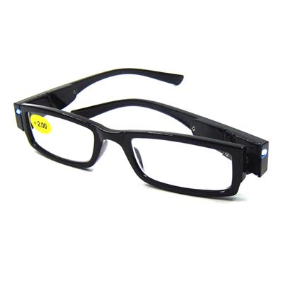 LED Light Reading Glasses