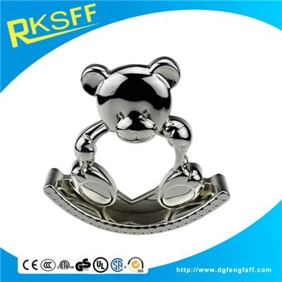 Zinc Alloy Little Bear Shape Photo Frame