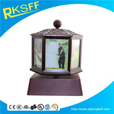 Zinc Alloy Rotated Photo Frame