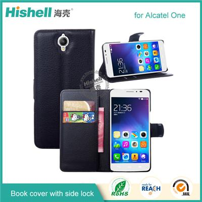 Leather Case For Alcatel