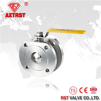 Stainless Steel API/DIN/JIS Standard Italian Wafer Type Ball Valve