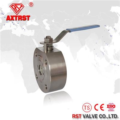 Forged Steel Floating API Wafer Type Ball Valve 1/2~6 Inch
