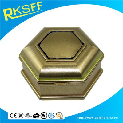 Zinc Alloy Octagon Jewelry Box