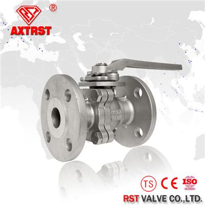 2PC Stainless Steel API Flanged Ball Valve 150LB CF8M/WCB