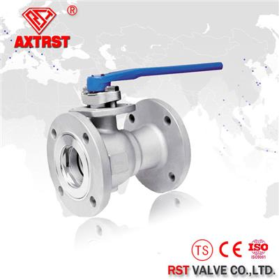 One Piece Floating Stainless Steel Ball Valve 150LB CF8M